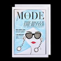 "✦Yurika's Drawing✦ ""MODE magazine [JULY 2019]"" GREETING CARD[L]"