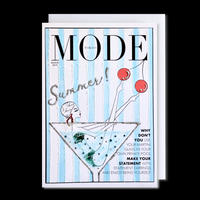 "✦Yurika's Drawing✦ ""MODE magazine [AUGUST 2019]"" GREETING CARD[L]"