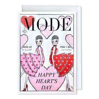 "✦Yurika's Drawing✦ ""MODE magazine [FEBRUARY 2020]"" GREETING CARD[L]"