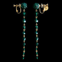 JULICA EARRINGS | MON BIJOU_EMERALD
