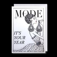 "✦Yurika's Drawing✦ ""MODE magazine [JANUARY 2020]"" GREETING CARD[L]"