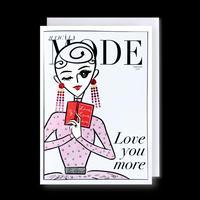 """JULICÀ LA MODE magazine"" GREETING CARD[L]FEBRUARY 2021"