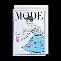 "✦Yurika's Drawing✦ ""MODE magazine [JULY 2020]"" GREETING CARD[L]"