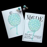 """JULICÀ LA MODE magazine"" GREETING CARD[L]MARCH 2021"
