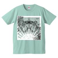 Hisomi-TNP『heliocentric』Tシャツ/セージブルー