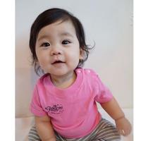 ベビーTシャツ/ピンク