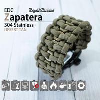 Royal Breeze|パラコード|ブレスレット|デザートタン|EDCザパテラ|ハンドメイド|日本製