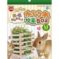 マルカン  かじり木牧草BOX(M)箱入り
