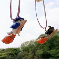 【作家さん直送商品(送料込)】《カプリス》魔女っ子チンチラ(ネックレスver.)