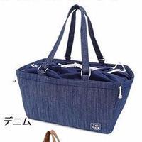 【再入荷】キャリーケースバッグ(簡易保温・保冷用)   デニム