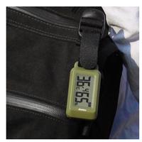 【携帯用温湿度計】時計機能付きポータブル温湿度計 <ブライン>