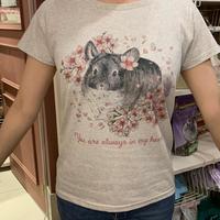 【MH5周年限定復活販売】グレイスのぬくもりを感じるTシャツ(オートミール)