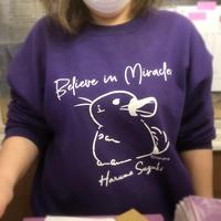 《Believe in Miracles》Haruma Suzuki「裏起毛ビックシルエットスウェット」