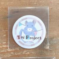 【Toi Project】《おトイさん》 Toiproロゴステッカー