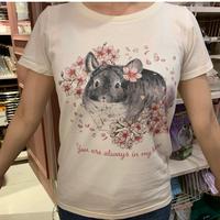 グレイスのぬくもりを感じるTシャツ(アイボリー)