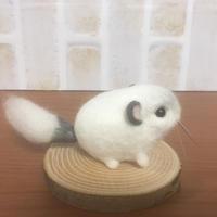 【❤︎春子❤︎】羊毛フェルトぬいぐるみ(置物)