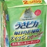 GEX  うさピカ 毎日のお掃除用ティッシュ バリュー (詰替パック)