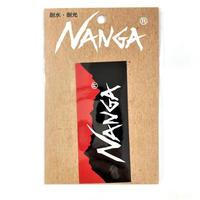 NANGA LOGO STICKER / ナンガロゴステッカー