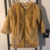 【Champion】fleece long cardigan フリースロングカーディガン CS6294