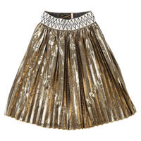Go to Hollywood ミスマッチキラキラプリーツスカート サイズ100