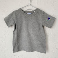 【Champion】POCKET TEE (GRAY SIZE 80-90)