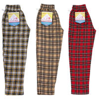【Cookman】Chef Pants 「Corduroy Tartan」