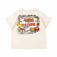DENIM DUNGAREE|天竺 NATURE Tシャツ   サイズ100