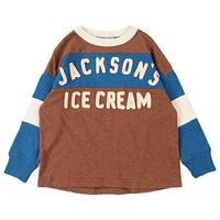 DENIM DUNGAREE|天竺 ICE CREAM Tシャツ サイズ100