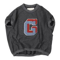 Go to Hollywood|ビンテージ天竺 変型 リンガー Tシャツ サイズ02