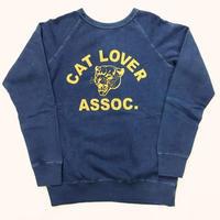 "〈MIXTA〉""CAT LOVER"" SWEAT(RAGLAN SLEEVES)"