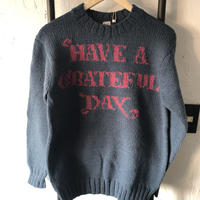 【GOWEST】 GRATEFUL DAY CREW KNIT