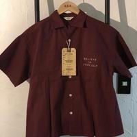 DENIM DUNGAREE  シーチング ヘンケイ アロハ シャツ サイズ140