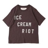 Go to Hollywood|天竺 ハート Tシャツ チャコールグレー サイズ01,02