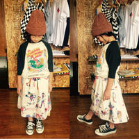 【DENIM DUNGAREE】PLEASE AND THANK YOU STORE イージー SK/SIZE 100-120