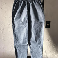 【Cookman】Chef Pants 「Chambray」 Blue  商品コード : 231-92849
