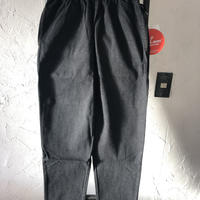 【Cookman】Chef Pants 「DENIM」 Black 商品コード : 231-92870