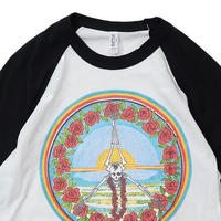 HAVE A GRATEFUL DAY COLLECTION   3/4 SLEEVE T-SHIRT (SKULL)