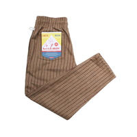 【Cookman】Chef Pants 「Wool mix Stripe」