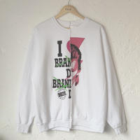 【 THRIFTY LOOK】TWINS CREW SWEAT (Beverly Hills,90210 × David Bowie)