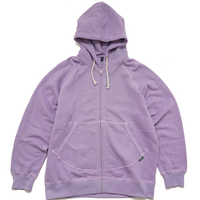 GOHEMP   ZIP UP PARKA/H/C FLEECE
