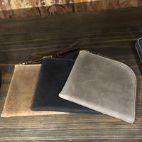 ANCHOR BRIDGE  Short Zip Wallet 01 – Kudu 3 colors