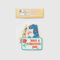 HAVE A GRATEFUL DAY    STICKER PACK