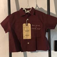 DENIM DUNGAREE  シーチング ヘンケイ アロハ シャツ サイズ100,120