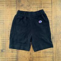 【Champion 】PILE SHORT PANTS (BLACK)