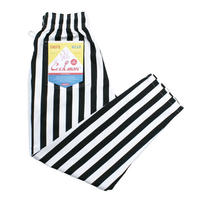 【Cookman】Chef Pants「WIDE STRIPE」(BLACK)