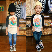 【GO TO HOLLYWOOD】テンジク AMERICAN TOUR ヘンケイ TEE / SIZE 100-120