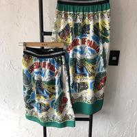 【 GO TO HOLLYWOOD】ゴートゥーハリウッド スカーフ スカート 品番01292803 サイズ01(150)-02(160)