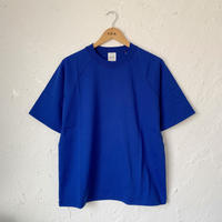 【SAGE DE CRET】クラッシック天竺SSクルーネックPO (BLUE)