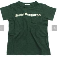 DENIM DUNGAREE  トンプンキンテンジク DENIM DUNGAREE ポケットTEE BS(80)
