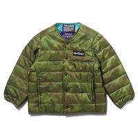 【DENIM DUNGAREE】カモフラナイロンリップ WILD THINGS インナージャケット サイズ110、120